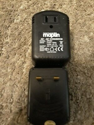 Maplin UK To USA Voltage Convertor 230v To 110v 45w, Model: RP90X