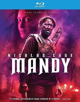 Mandy (Blu-ray, 2018) (Mystery & Thrillers) NEW FREE SHIPPING