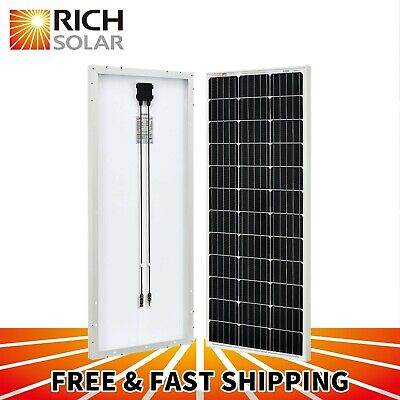 10W 20W 30W 50W 100W Monocrystalline Solar Panel 12V Battery Charger Mono