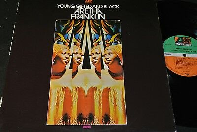 ARETHA FRANKLIN Young, Gifted And Black / German LP 1972 ATLANTIC ATL 40323