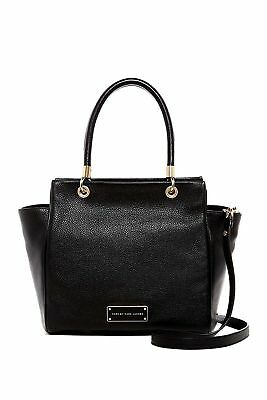 e2ec188fba69 NWT MARC BY Marc Jacobs Bentley Leather Double Shoulder Bag - Black ...