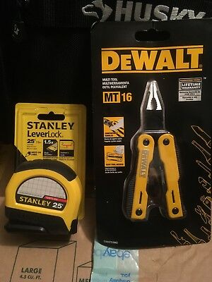 Stanley And Dewalt Tool Combo Tape Measure And Multi Tool