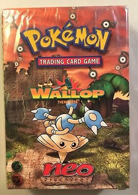 Pokemon Neo Discovery Wallop Theme Deck Factory Sealed