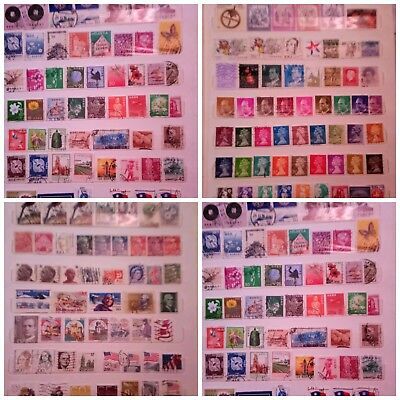 Post stamp old vintage collection worldwide lot of 1500