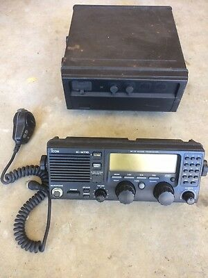 ICOM IC-M710RT Marine Transceiver with RC-21 Remote head and HM-120 mic