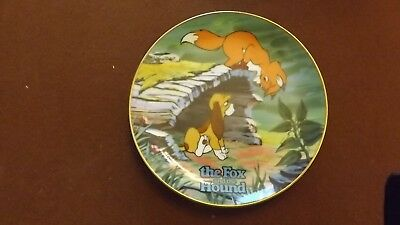Walt Disney Fox and the Hound Collectors Plate no reserve