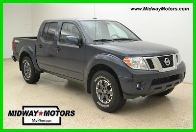 2018 Nissan Frontier PRO-4X 2018 PRO-4X Used 4L V6 24V Automatic 4WD Pickup Truck Premium