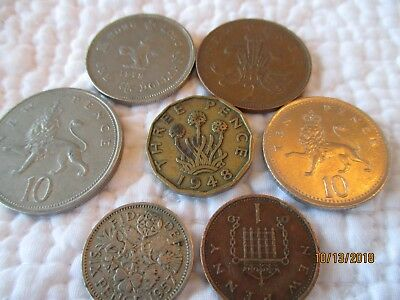 Great Britain ,lot of coins