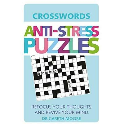Anti-stress Puzzles: Crosswords Moore, Gareth