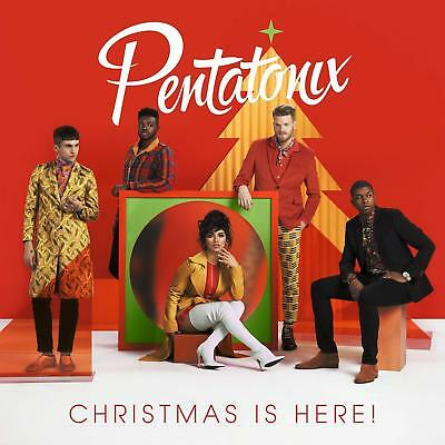 Pentatonix Cd - Christmas Is Here - New Free Shipping