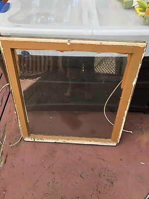 Shabby chic window Sash From 1935 Vintage