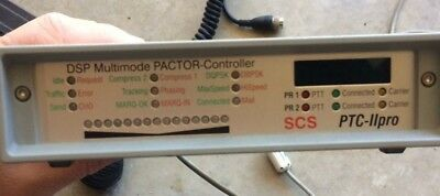 PACTOR SCS PTC-IIpro modem and misc. cables