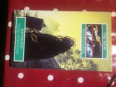 BIRTHRIGHT - Dr Doctor Who New Adventures book (Virgin 1st edition)