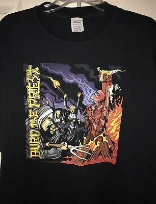 Original Burn The Priest XL Shirt Lamb Of God