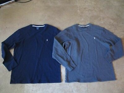 Lot, 2 mens size XL Polo by Ralph Lauren thermal shirts, tops