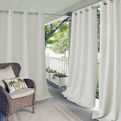 Indoor/Outdoor Grommet Panel 52in x 84in  white