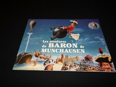 le BARON DE MUNCHAUSEN terry gilliam dossier presse cinema fantastique