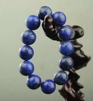 china natural lapis lazuli bracelet round bead stretch bracelet a01