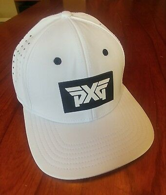 NEW Limited Edition PXG Golf Fitted White Hat / Cap Large / X-Large - RARE