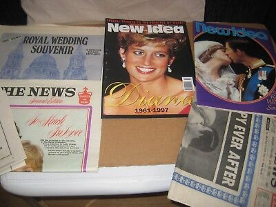 Royal Wedding Princess Di & Charles Memorabilia