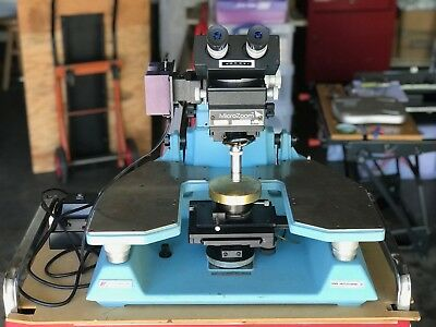 Wentworth Laboratories Manual Wafer Probe Station MP-907 Bausch & Lomb MicroZoom