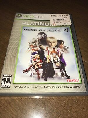 Xbox 360 Dead or Alive 4 Platinum Hits GAME