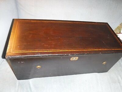 Antique Swiss 6 Airs Programme 12 Pouces Cylinder  Music Box Circa 1880