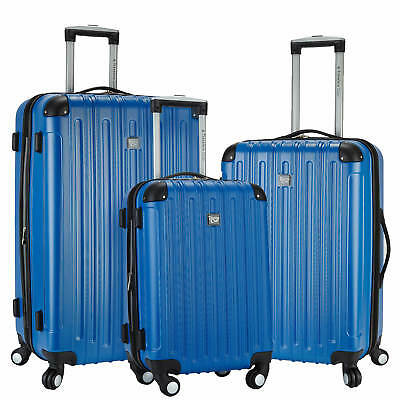 Brand NEW Travelers Club Madison 3-Pc. 2-in-1 Spinner Set - Blue HSC-21403-450