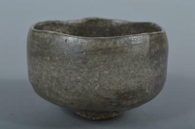 M9475: Japanese Raku-ware Green glaze TEA BOWL Green tea tool Tea Ceremony