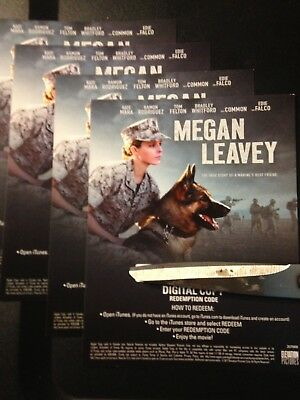 Megan Leavey (HD Digital Code Only) Canada redemption only!