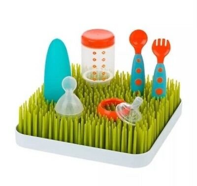 BNIB Boon Grass Bottle Countertop Drying Rack Baby Feeding Dish Set