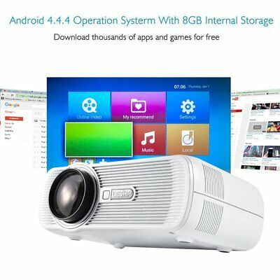 7000lumens Home Cinema Projector 1080P LED HD Multimedia 3D HDMI/USB/SD