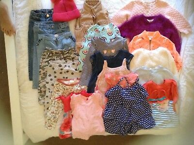 bulk bundle toddler girl clothes size 18-24 months Country Road, Witchery, Zara