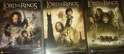 Lord Of The Rings Movie Trilogy Full DVD Set