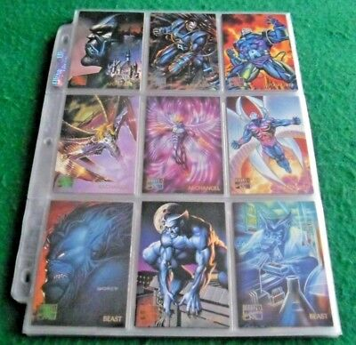 1995 Marvel Masterpieces Base Set