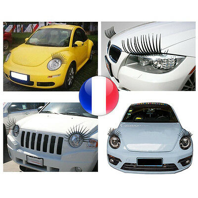 Cils Phares Voiture Tuning Cil Adaptable Tous Vehicules Girly Universel Mariage