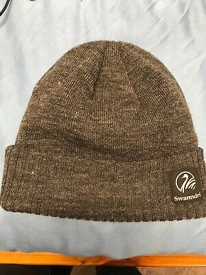 Swanndri Grafton Wool Beanie - Brown