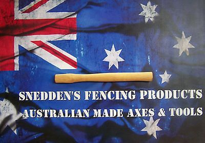Engineers Hammer Handle 310mm Long Spotted Gum Australian Made