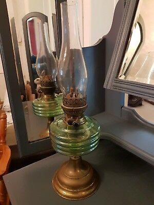 Antique Oil Lamp - Welco