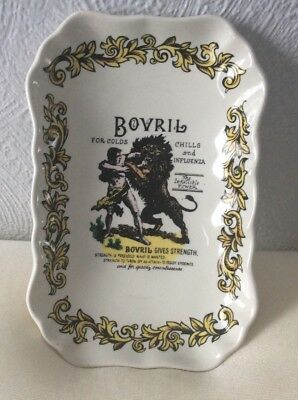 Lord Nelson Pottery Bovril Trinket/soap Dish Rectangular Stamped 7-75
