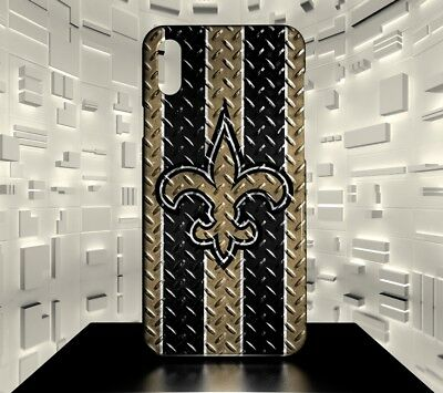 Custodia rigida per iPhone X New Orleans Saints NFL Team 07
