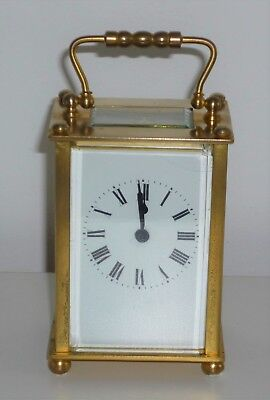 Vintage Carriage Clock Fully Working
