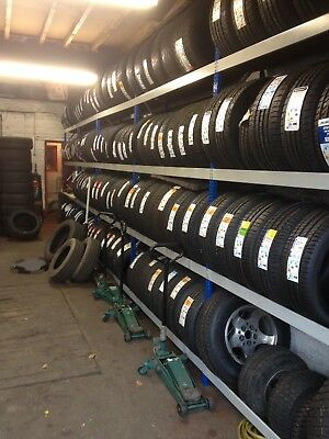Brand New - Tyre & Wheel Racking / Storage Shelving Bays - 4 levels