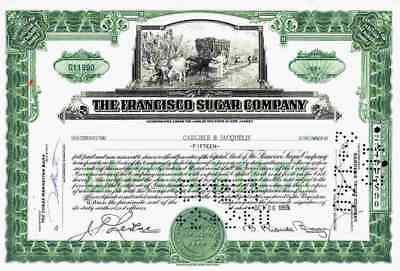 Francisco Sugar Company 1959 New Jersey Manati Sugar New York WJ McCahan Sugar