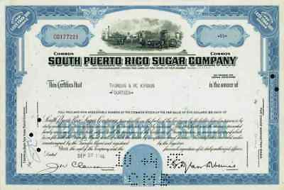 South Puerto Rico Sugar Company 1965 New Jersey Central Guánica Guánica Puerto #
