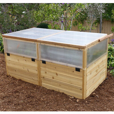 Outdoor Living Today 6 Ft. W x 3 Ft. D Cold-Frame Greenhouse