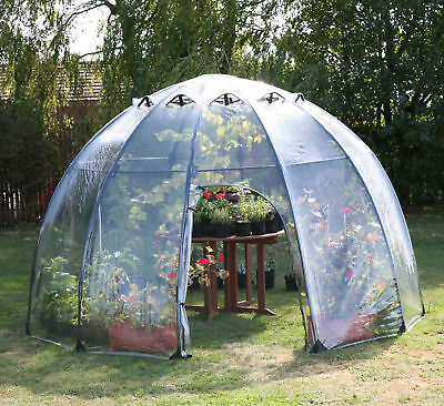 Tierra Garden Haxnicks 11.5 Ft. W x 11.5 Ft. D Greenhouse