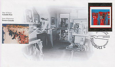 Canada #1916 Masterpieces Of Canadian Art First Day Cover