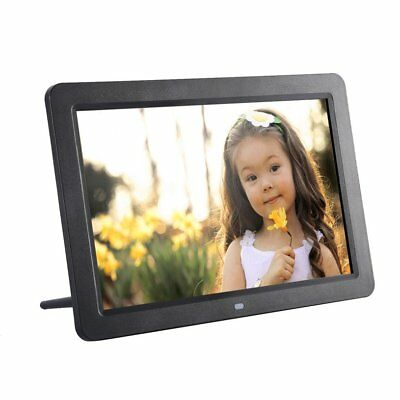 "12"" HD DIGITAL PHOTO FRAME Calendar LED LCD Music MP3 Video Player + Remote"