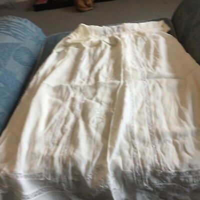 Vintage early 20th century christening gown